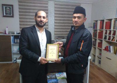 Kunjungan Ketua STIQ Ar-Rahman ke Turki